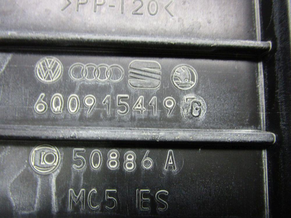 vw polo (9n_) 1.4 16v batterie 6q0915419 batteriekasten | ebay