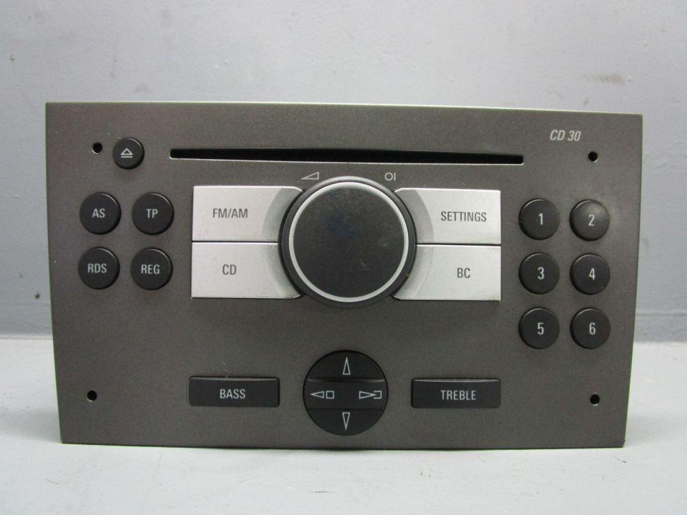 opel vectra c 1 9 cdti cd radio autoradio 13190853 cd30 ebay. Black Bedroom Furniture Sets. Home Design Ideas