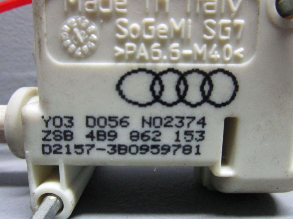 AUDI-A6-4B-C5-2-5-TDI-QU-KOMBI-Stellmotor-4B9862153-Tankklappenzug