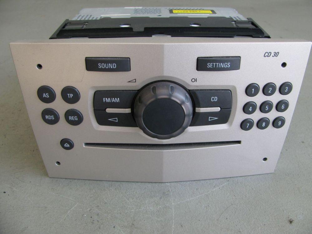 opel corsa d 1 3 cdti cd radio autoradio 13257031. Black Bedroom Furniture Sets. Home Design Ideas